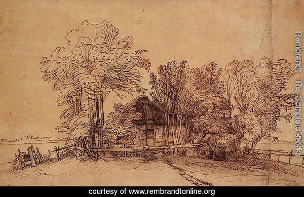 Cottage Among Trees 1650-51
