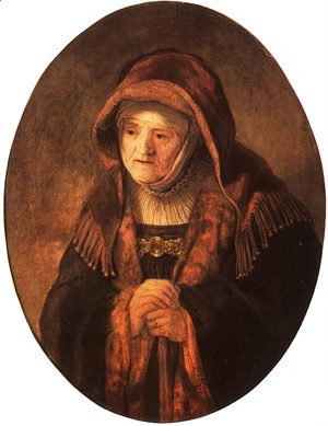 Rembrandt - Rembrandt's Mother  1639