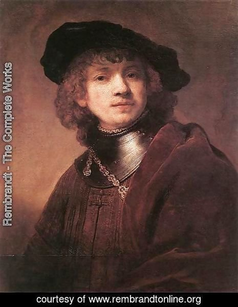 Rembrandt - Self Portrait as a Young Man 1634