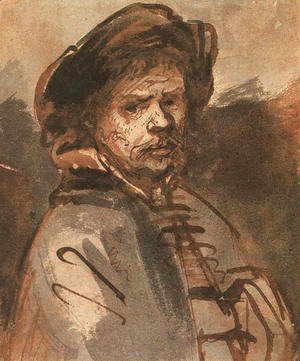 Rembrandt - Self-Portrait 1630s