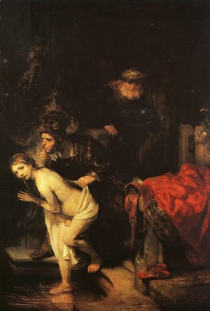 Rembrandt - Susanna and the Elders (detail) 1647