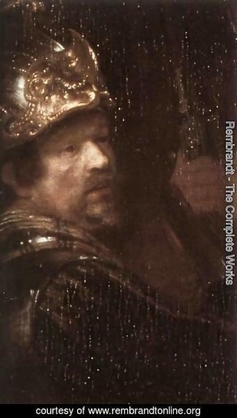 Rembrandt - The Nightwatch (detail-3) 1642