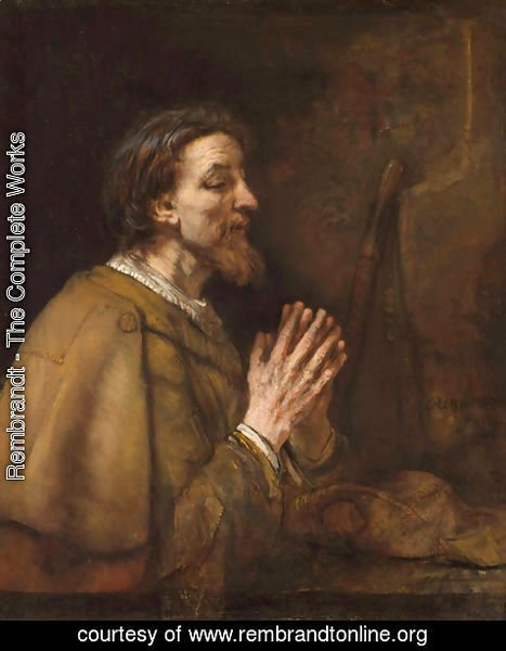 Rembrandt - Saint James the Greater
