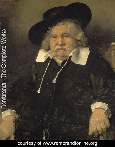 Rembrandt - Portrait of an Elderly Man