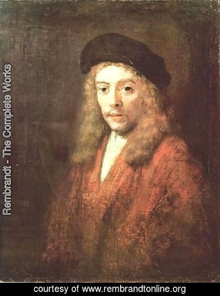 Rembrandt - Portrait of a Young Man