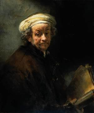 Rembrandt - Self Portrait as the Apostle St Paul
