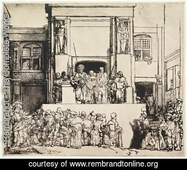 Rembrandt - Christ Presented to the People