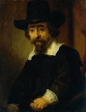 Rembrandt - Dr Ephraim Bueno, Jewish Physician and Writer