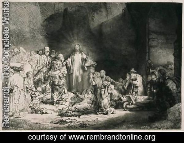 Rembrandt - The Hundred Guilder Print