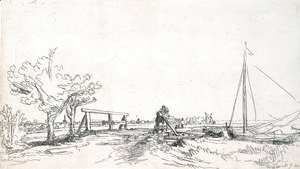 Rembrandt - Six's Bridge