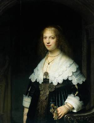Portrait of Maria Trip (1619-1683)