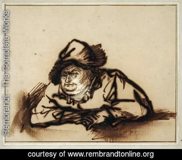 Rembrandt - Portrait of Willem Bartholsz. Ruyter