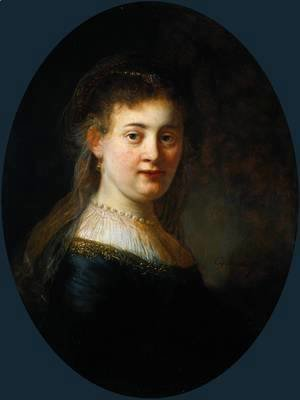 Portrait of Saskia van Uylenburgh (1612-1642)