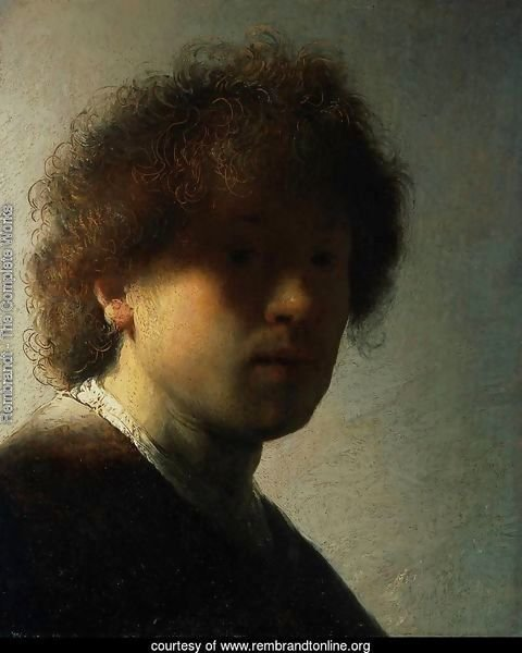 Self Portrait at an Early Age