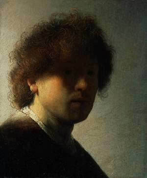 Rembrandt - Self Portrait at an Early Age