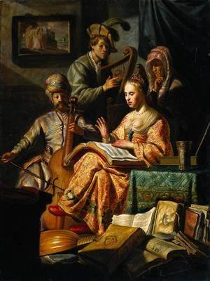 Rembrandt - Musical Allegory