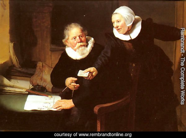 Jan Rijcksen and his Wife, Griet Jans ('The Shipbuilder and his Wife')