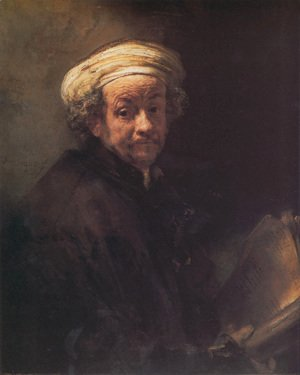 Rembrandt - Self-portrait as the Apostle Paul