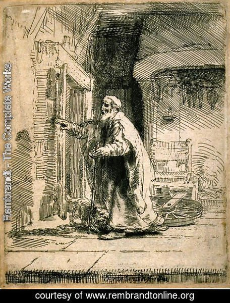 Rembrandt - The Blindness of Tobit