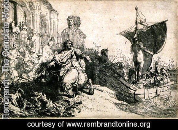 Rembrandt - The Ship of Fortune