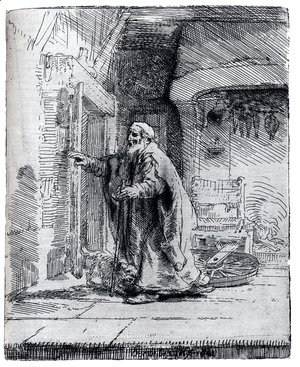 Rembrandt - Tobit Going To Greet Tobias