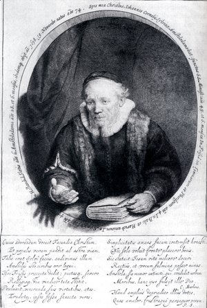 Portrait Of Johannes Cornelisz
