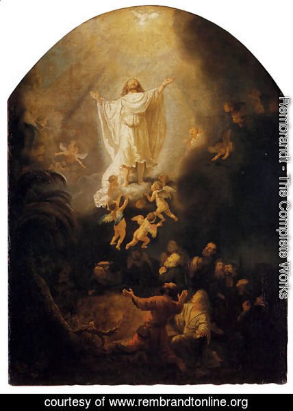 Rembrandt - The Ascension Of Christ