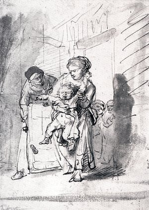Rembrandt - Child In A Tantrum