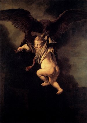 Rembrandt - The Abduction Of Ganymede