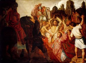 Rembrandt - The Stoning Of St. Stephen