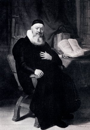 Portrait Of Johannes Elison