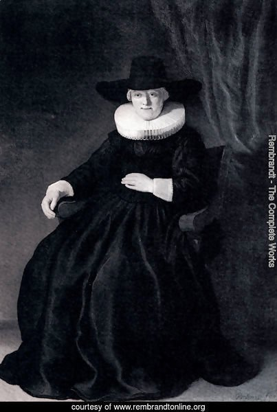 Portrait Of Maria Bockenolle