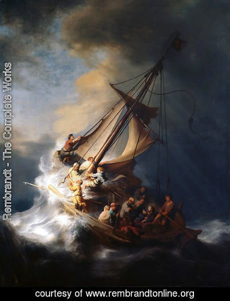 Rembrandt - Christ In The Storm On The Sea Of Galilee