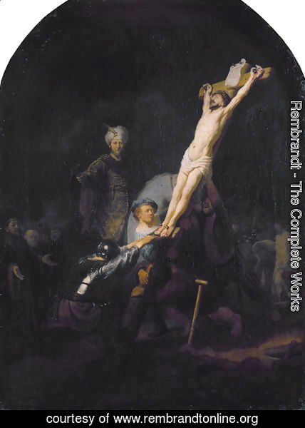 Rembrandt - The Elevation Of The Cross
