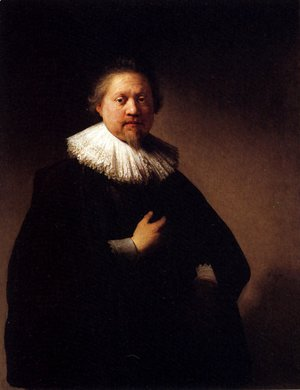 Rembrandt - Portrait Of A Man