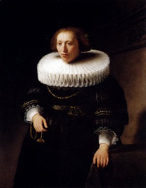 Rembrandt - Portrait Of A Woman