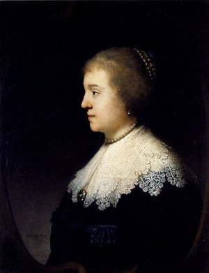 Rembrandt - Portrait Of Amalia van Solms