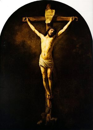 Rembrandt - Christ On The Cross
