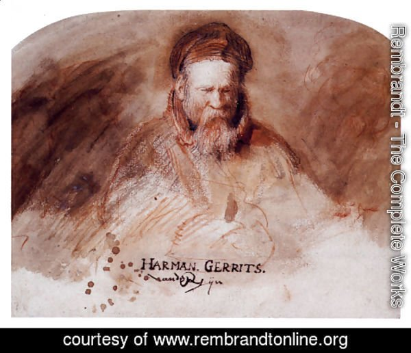 Rembrandt - The Artist's Father