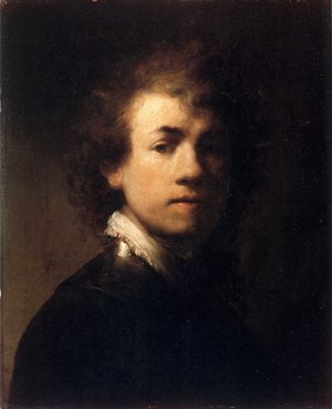 Rembrandt - Self-Portrait In A Gorget