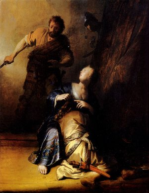Rembrandt - Samson And Delilah