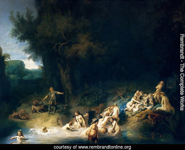 Diana Bathing, with the Stories of Actaeon and Callisto