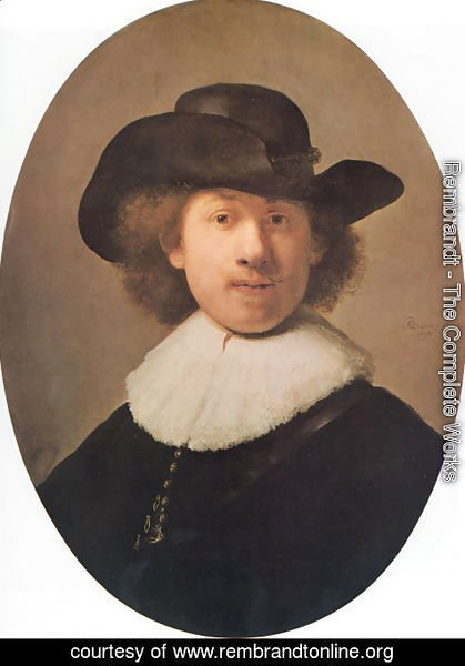 Rembrandt - Self-portrait, 1632