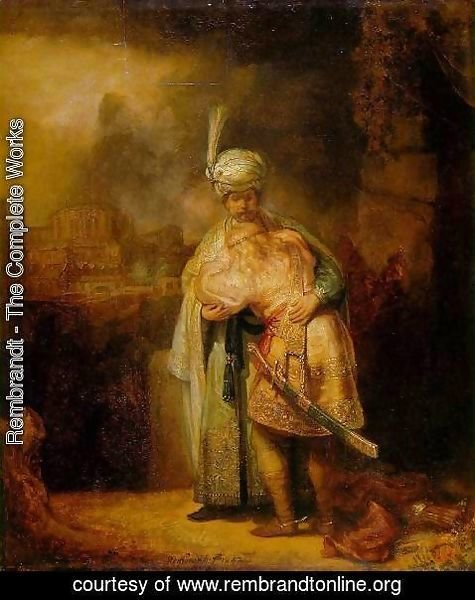 Rembrandt - David and Jonathan