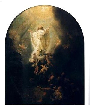 Rembrandt - L'Ascension,munich 1636