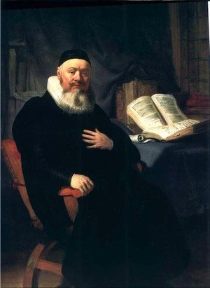 Le Predicateur Johannes Elison,boston 1634