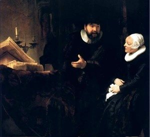 Le Predicateur Menonite Cornelis,berlin 1640