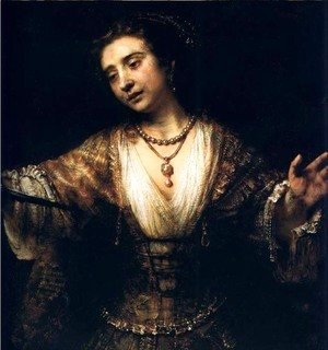 Rembrandt - Lucrece,washington Ng 1664
