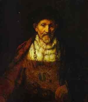 Rembrandt - Portrait of an Old Man 2