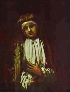 Rembrandt - Portrait of an Old Woman 1